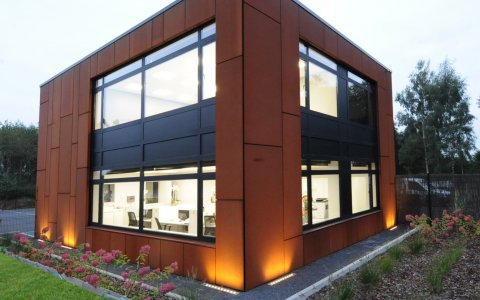 Bureau PME Batiment industriel