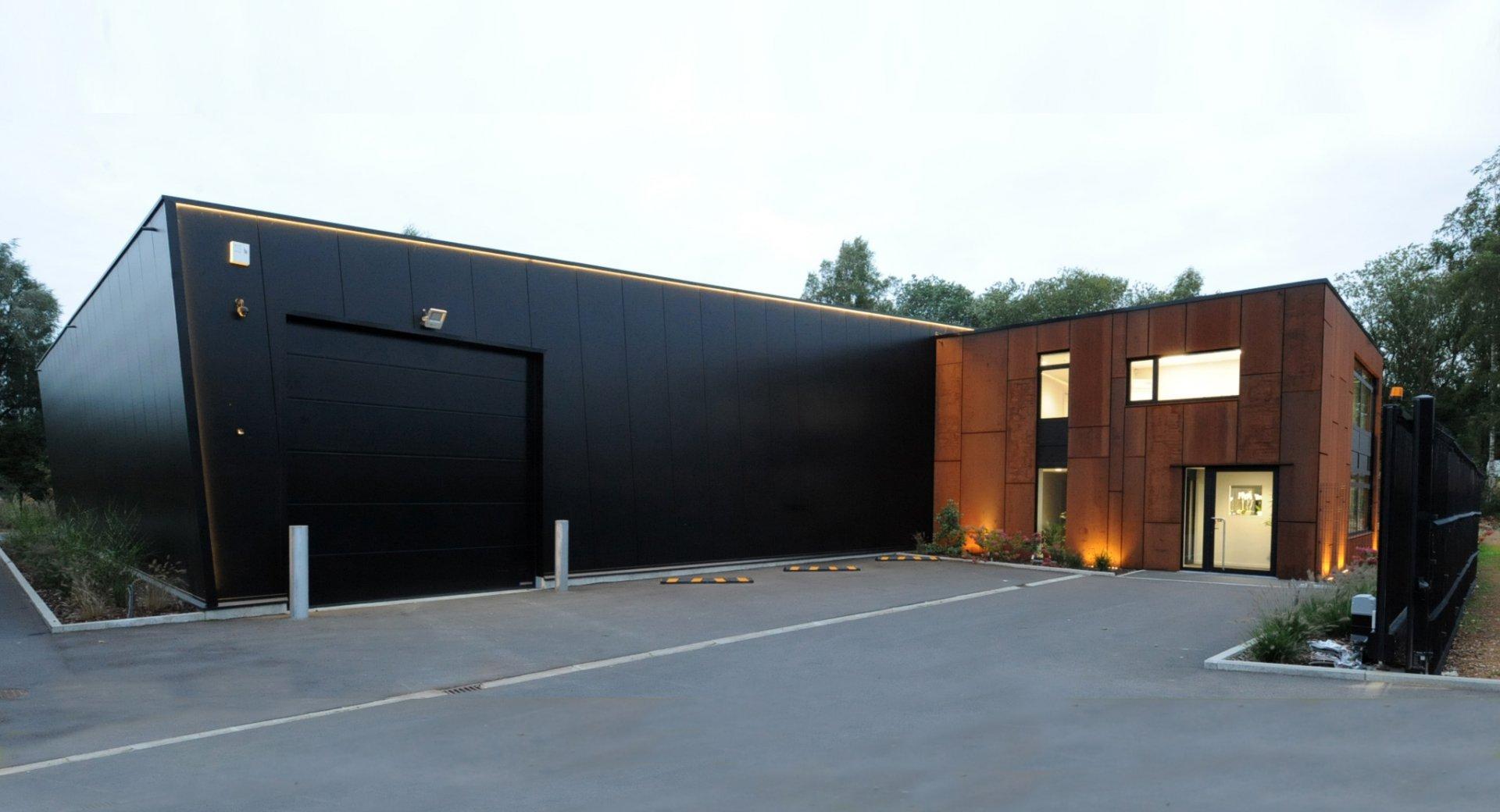 Batiment PME design